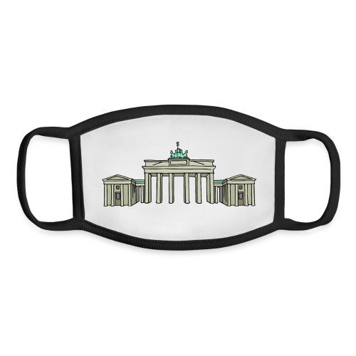 Brandenburg Gate Berlin - Youth Face Mask