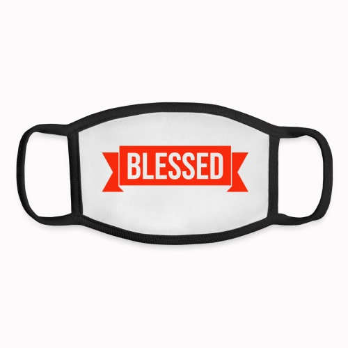 BLESSED - Youth Face Mask