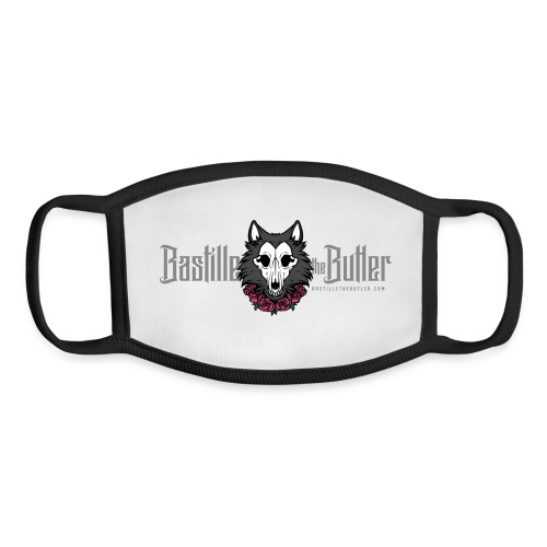 Bastille Horizontal Logo - Youth Face Mask