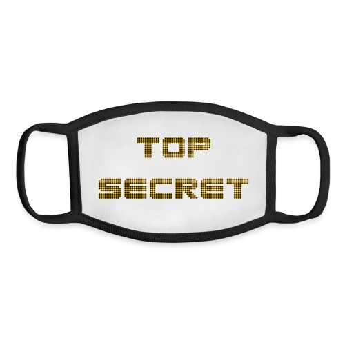 top secret - Youth Face Mask