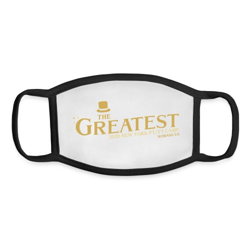 The Greatest NYCCOC PTYT CAMP 2020 - Youth Face Mask