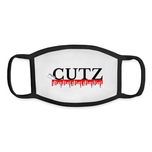 Cutz clothing - Youth Face Mask