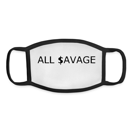 ALL $avage - Youth Face Mask
