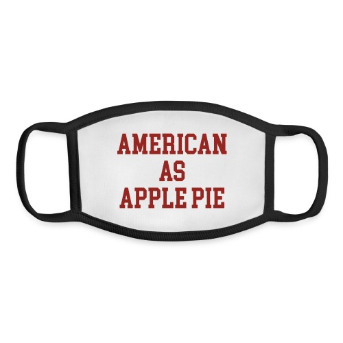 American as Apple Pie - Youth Face Mask