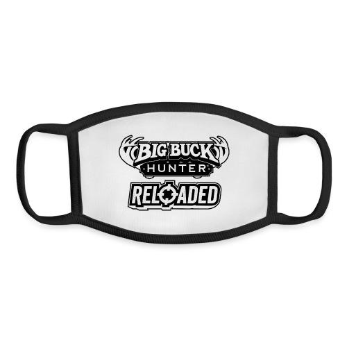 Big Buck Hunter Reloaded - Black - Youth Face Mask