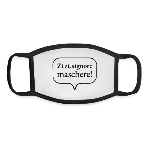 Don Giovanni: Zi zi, signore maschere! (bubble) - Youth Face Mask