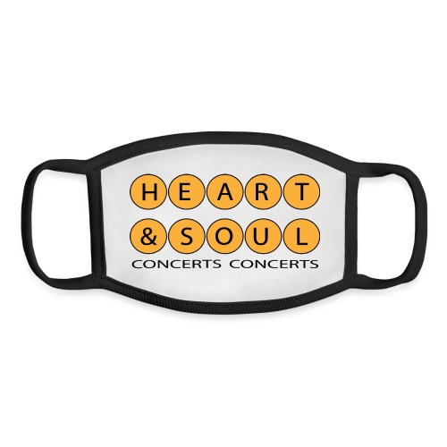 Heart Soul Concerts Golden Bubble horizon - Youth Face Mask