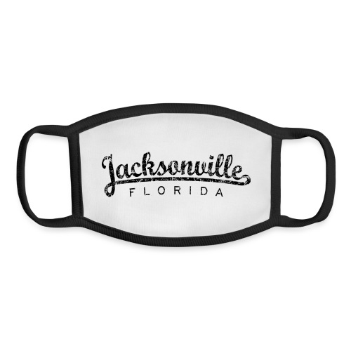 Jacksonville, Florida Classic (Ancient Black) - Youth Face Mask