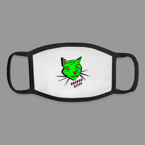 Voodoo Kitty - Youth Face Mask