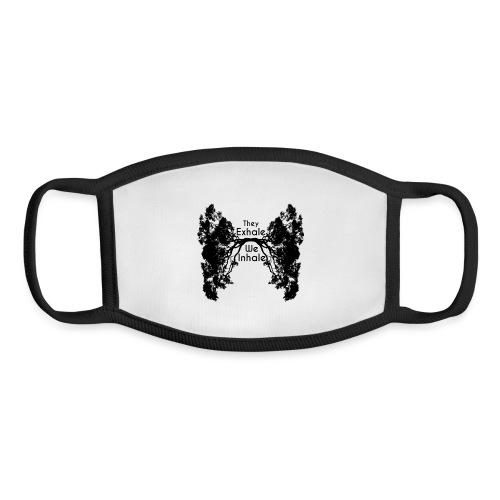 InhaleExhaleBlack - Youth Face Mask