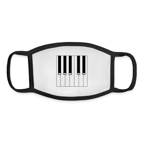 Piano - Youth Face Mask