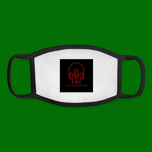SPC Logo Black/Red - Youth Face Mask