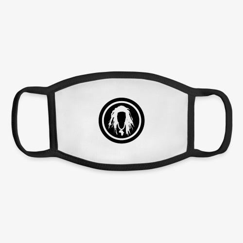 Black circle logo - Youth Face Mask