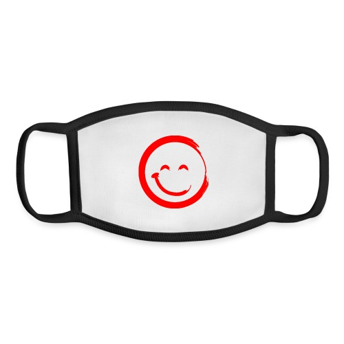 Positivity Solution Red Logo - Youth Face Mask