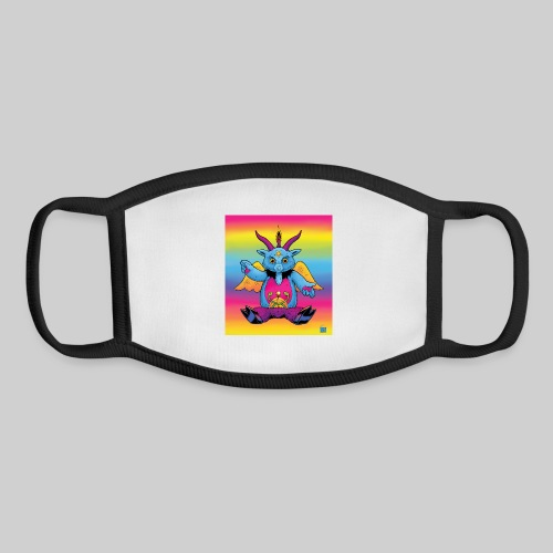 Rainbow Baphomet - Youth Face Mask