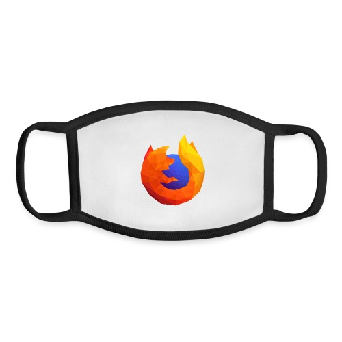 Firefox Reality Logo - Youth Face Mask