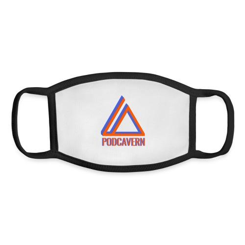 PodCavern Logo - Youth Face Mask
