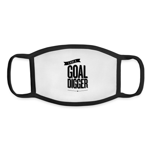 I Am A Goal Digger BY SHELLY SHELTON - Youth Face Mask