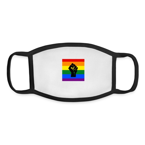 BLM Pride Rainbow Black Lives Matter - Youth Face Mask