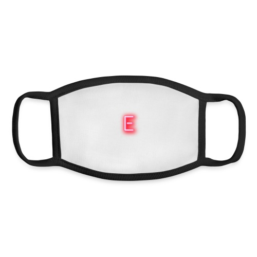 Neon E - Youth Face Mask