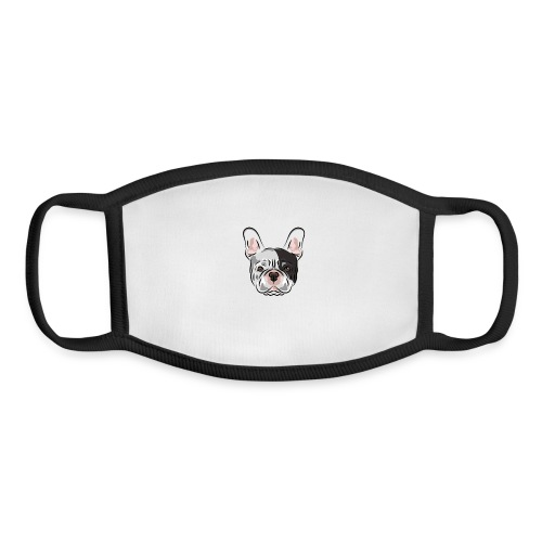 pngtree french bulldog dog cute pet - Youth Face Mask
