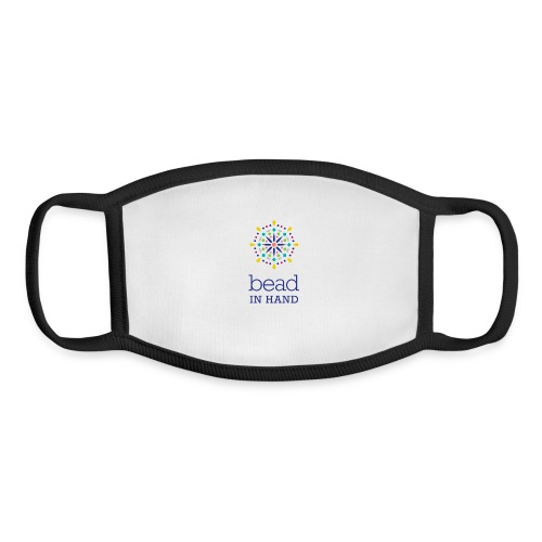 Bead In Hand Logo with Name - Youth Face Mask