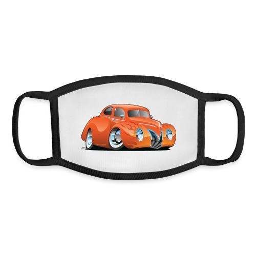 Custom Street Rod Vintage Car Cartoon - Youth Face Mask
