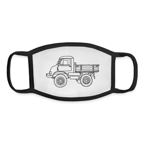 Off-road truck, transporter - Youth Face Mask