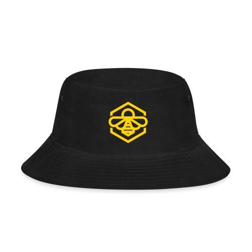 bee symbol orange - Bucket Hat