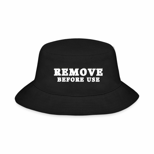 Remove Before Use for dark - Bucket Hat