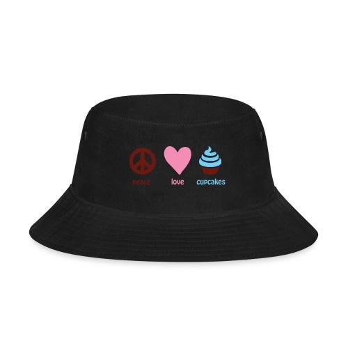 peacelovecupcakes pixel - Bucket Hat