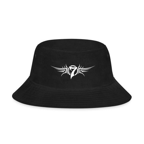 MayheM-7 Tattoo Logo White - Bucket Hat