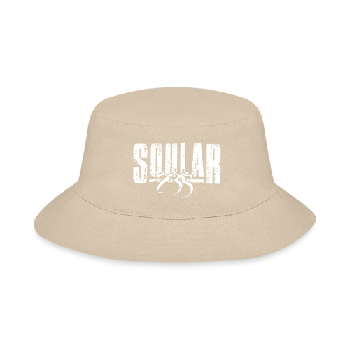 Soular235 White Logo - Bucket Hat