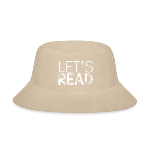 Let's Read Teacher Pillow Classroom Library Pillow - Bucket Hat