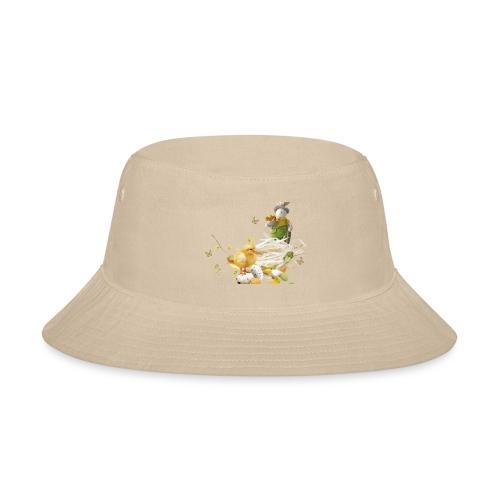 easter bunny easter egg holiday - Bucket Hat