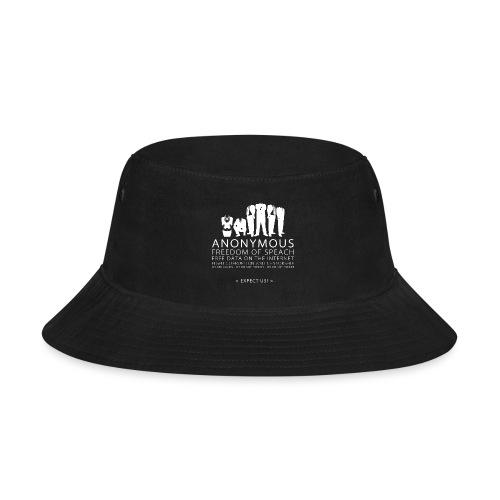 Anonymous 2 - White - Bucket Hat