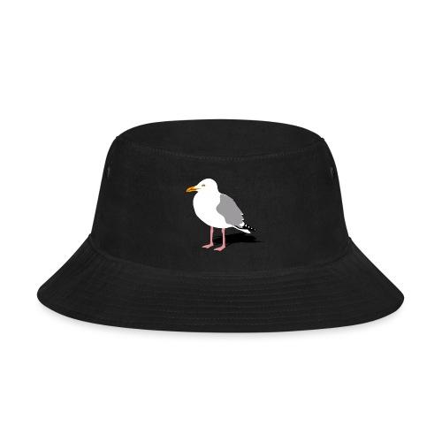 sea gull seagull harbour bird beach sailing - Bucket Hat