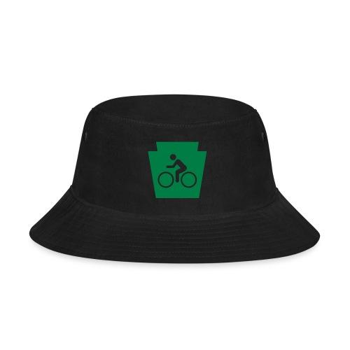 PA Keystone w/Bike (bicycle) - Bucket Hat