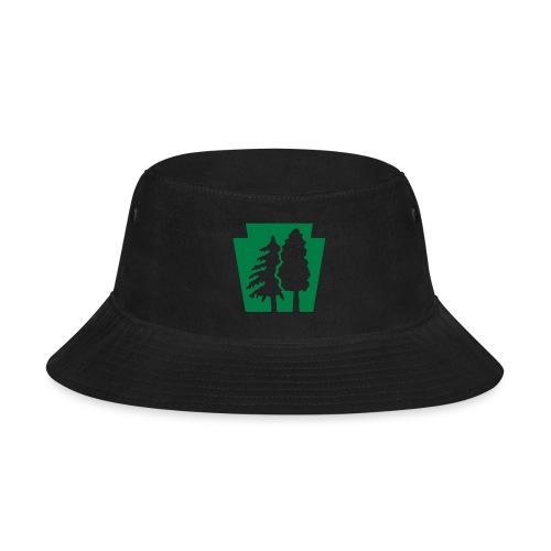 PA Keystone w/trees - Bucket Hat