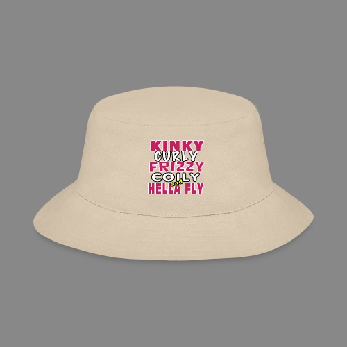 Kinky Curly Frizzy - Bucket Hat