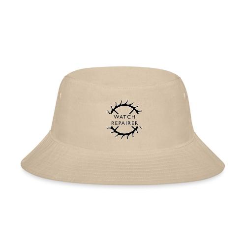 Watch Repairer Emblem - Bucket Hat