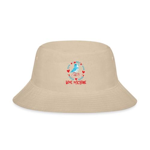 Cute Love Machine Bird - Bucket Hat