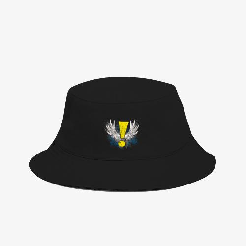 Winged Whee! Exclamation Point - Bucket Hat