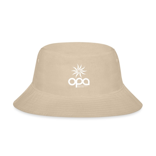 Short Sleeve T-Shirt with small all white OPA logo - Bucket Hat