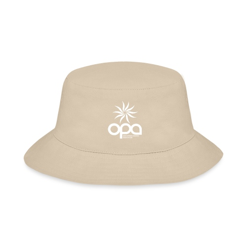 Long-sleeve t-shirt with small white OPA logo - Bucket Hat