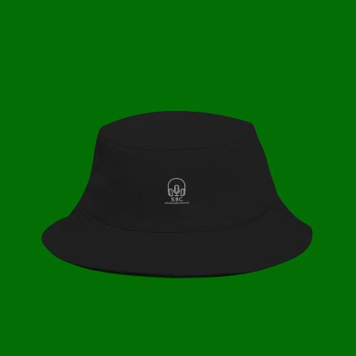 SPC Logo White - Bucket Hat
