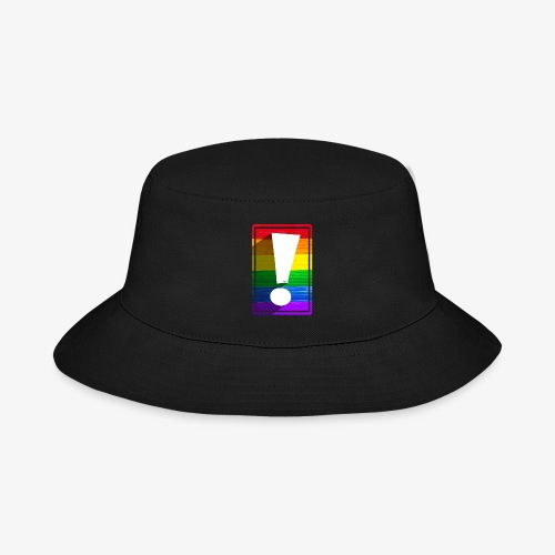 LGBTQ Pride Exclamation Point - Bucket Hat