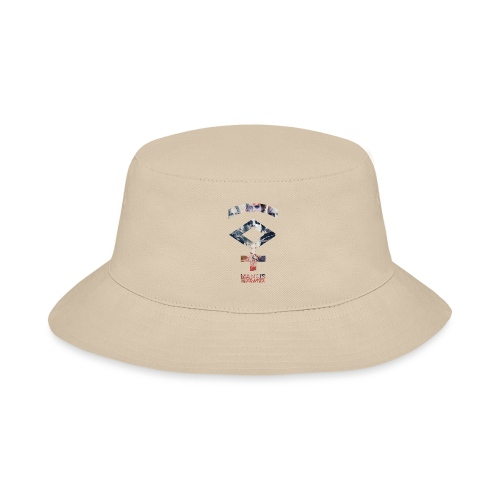 Mantis and the Prayer- Symbol Design - Bucket Hat