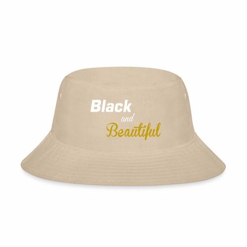 Black & Beautiful Long Sleeve Shirt - Bucket Hat
