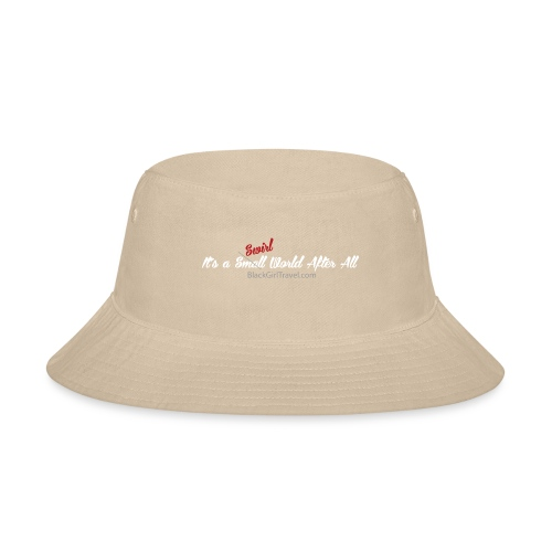 Plain Small World png - Bucket Hat